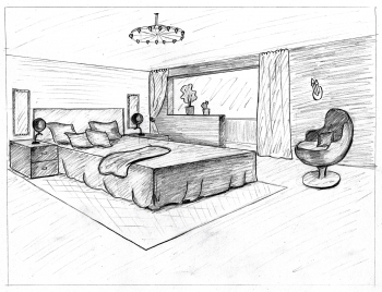 maison dessin architecte interieur. Black Bedroom Furniture Sets. Home Design Ideas