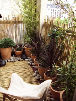 photo comment decorer son petit balcon