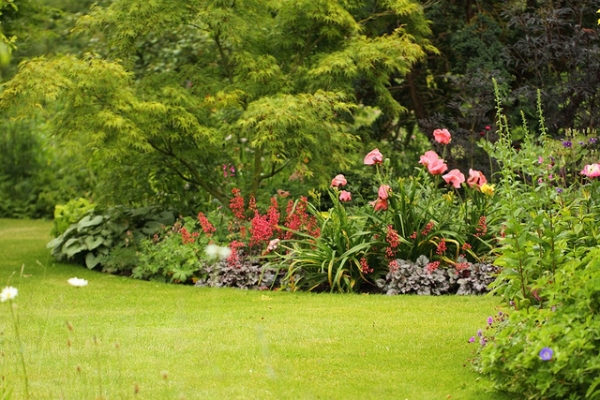Image gallery jardins anglais for Jardin de cottage anglais