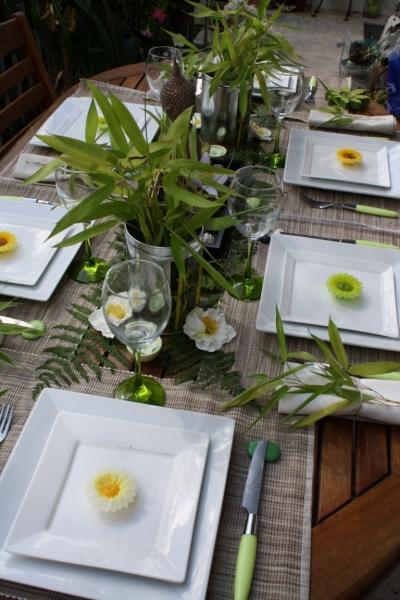 D Co De Table Zen Avec Bambous
