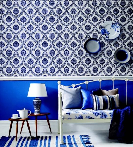 couleur et d co le bleu. Black Bedroom Furniture Sets. Home Design Ideas