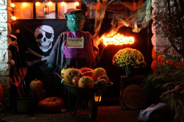 Halloween au jardin for Jardin halloween