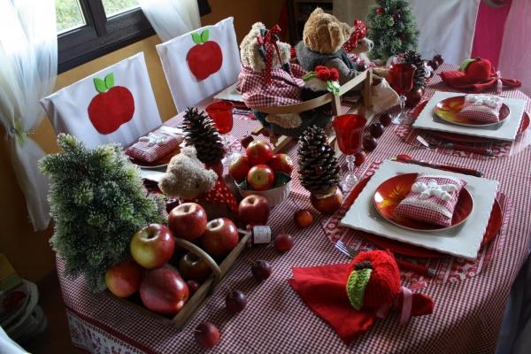 Dresser une table de no l traditionnelle - Table de noel traditionnelle ...