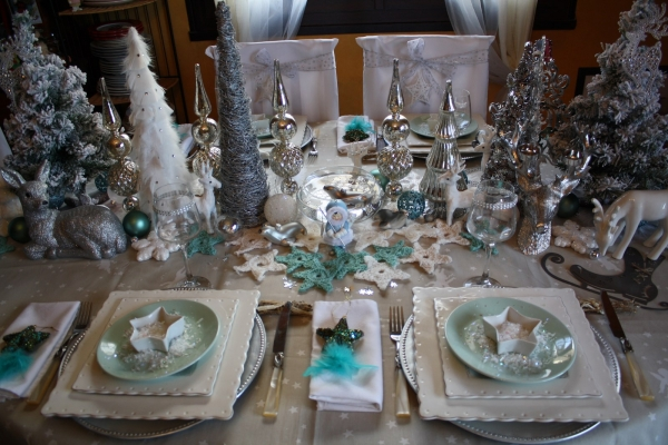 Une table festive et un conte pour la nouvelle ann e for Decoration 31 decembre