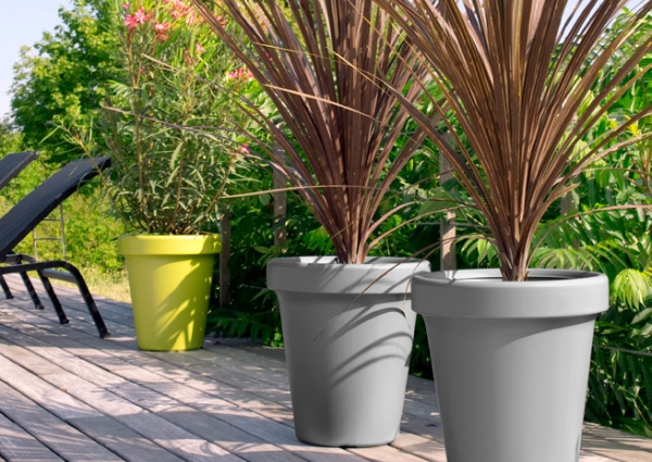 D coration terrasse pot for Plante en pot pour terrasse