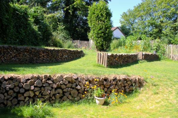 Mon jardin upcycl au jardin comme la maison vive la - Astuce pour decorer son jardin ...
