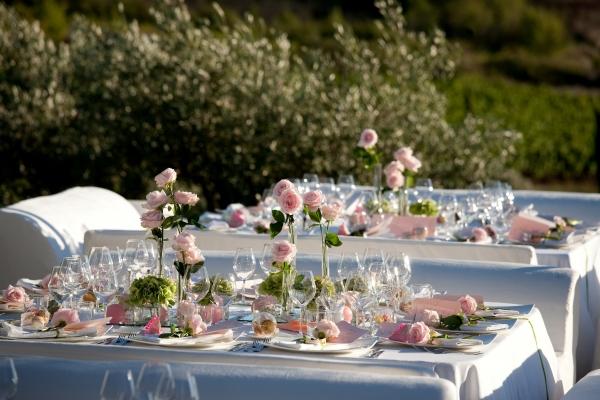 Un mariage au nom de la rose for Decoration mariage vert d eau