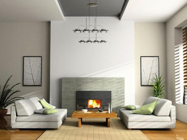 D co du salon le style maison de famille la loupe - Decor rustique moderne ...