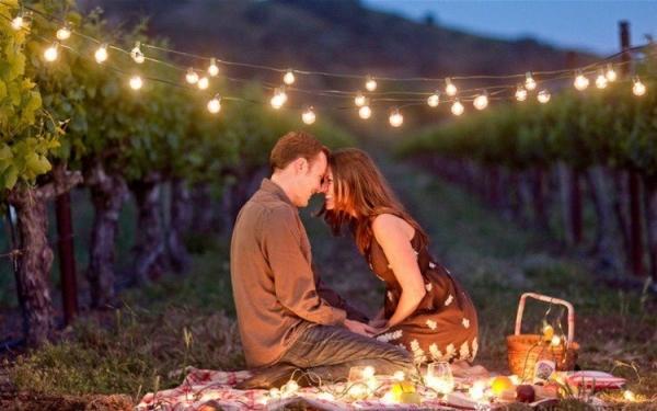 8 id es pour une demande en mariage originale - Pique nic romantique ...