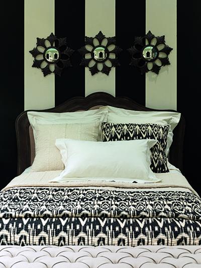 d co en noir et blanc le duo choc. Black Bedroom Furniture Sets. Home Design Ideas