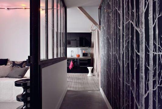 ce couloir j 39 en fais quoi. Black Bedroom Furniture Sets. Home Design Ideas