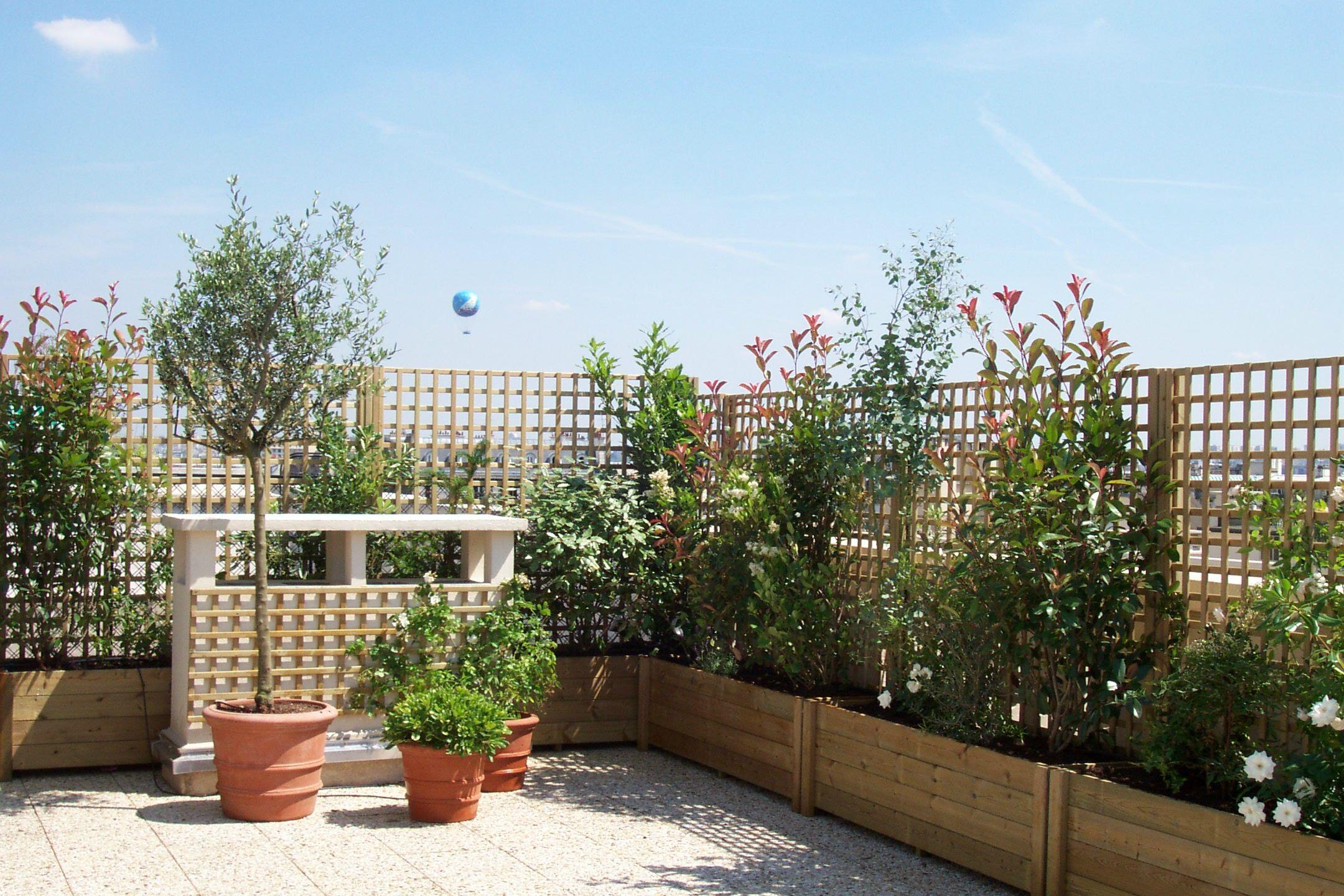 Plantes De Terrasse Arbustes une terrasse oui, mais sans vis-à-vis !