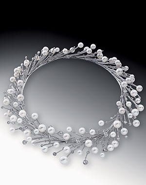 collier perle joaillerie