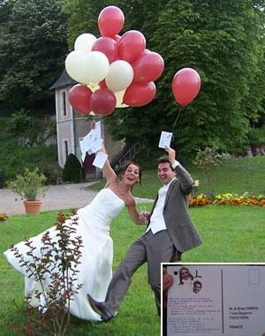 le mariage de mathilde - Lacher De Ballons Mariage