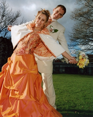 robe de mariee orange