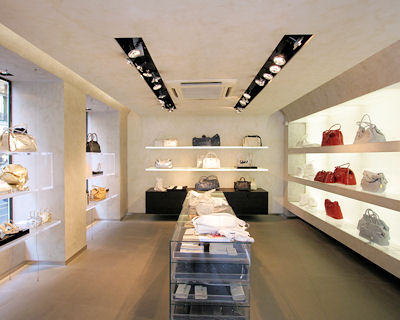 Furla un int rieur design for Design d interieur boutique