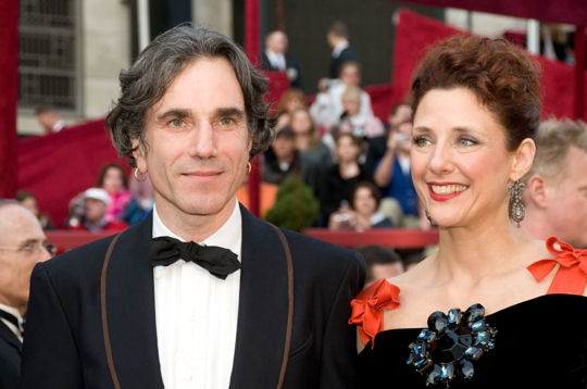Daniel Day-Lewis couple