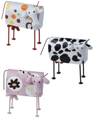 10 objets vache vaches m tal country casa. Black Bedroom Furniture Sets. Home Design Ideas